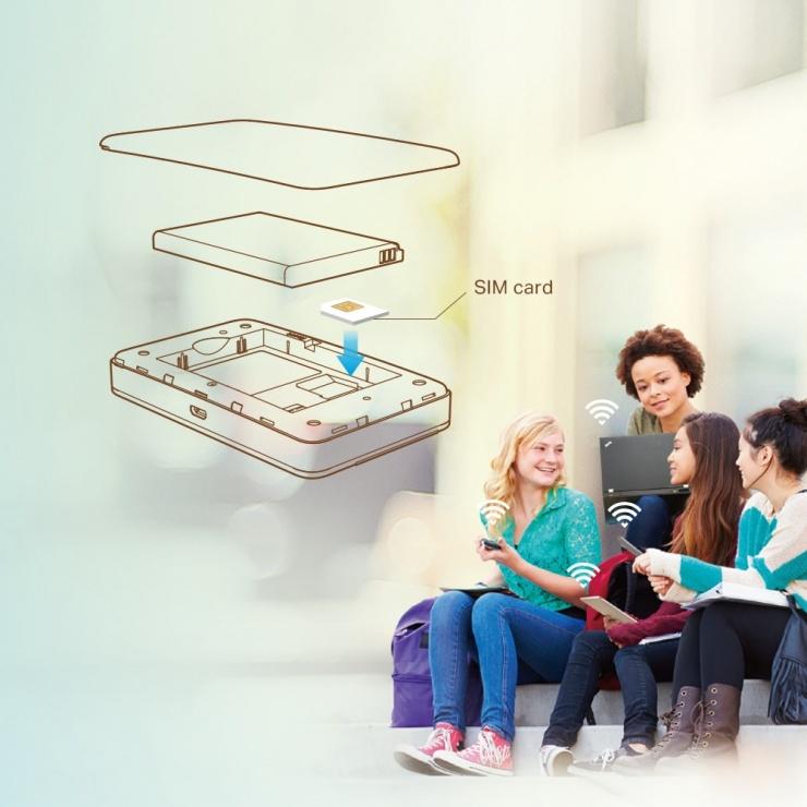 Imagine ROUTER WIRELESS PORTABIL LTE 4G, TP-LINK M7350