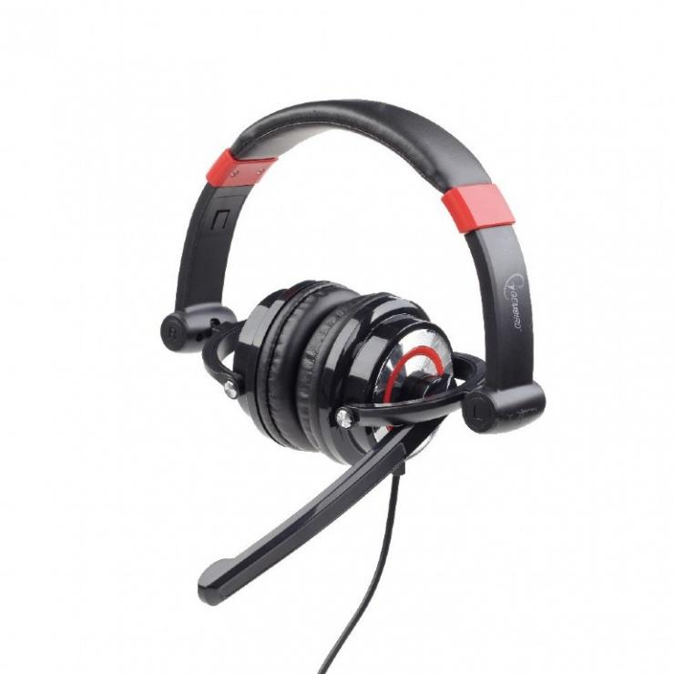 Imagine Casti surround 5.1 cu microfon Gembird, USB, MHS-5.1-001-1