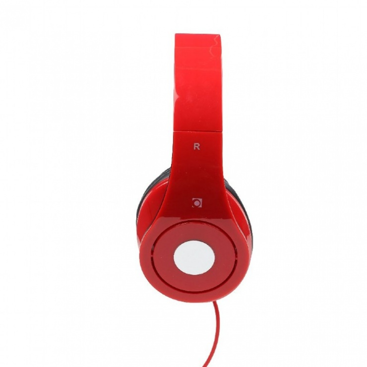 Imagine Casti stereo Detroit Red, Gembird MHS-DTW-R-3