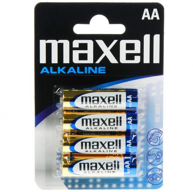 Imagine Baterie Alcalina AA LR6 4buc Blister, Maxell MN1500