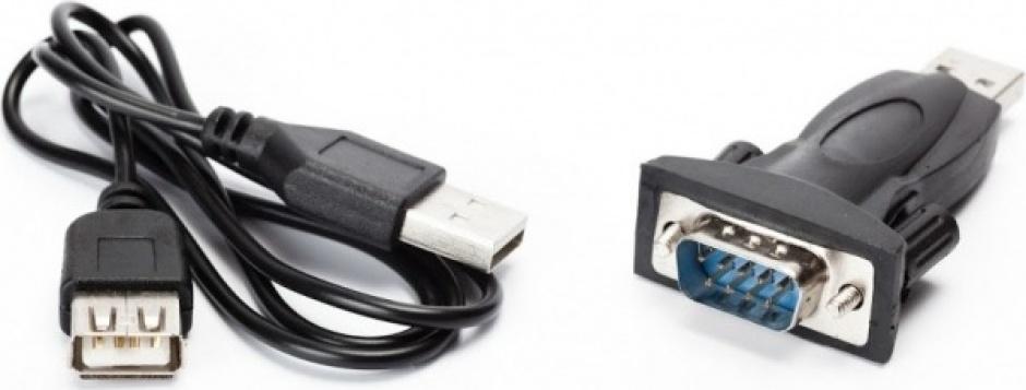 Imagine Adaptor USB la Serial RS232, Spacer SPA-USB-RS232