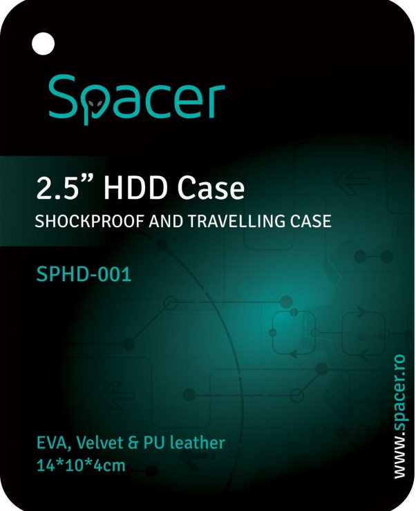 """Imagine Husa protectie HDD 2.5"""", Spacer SPHD-001"""