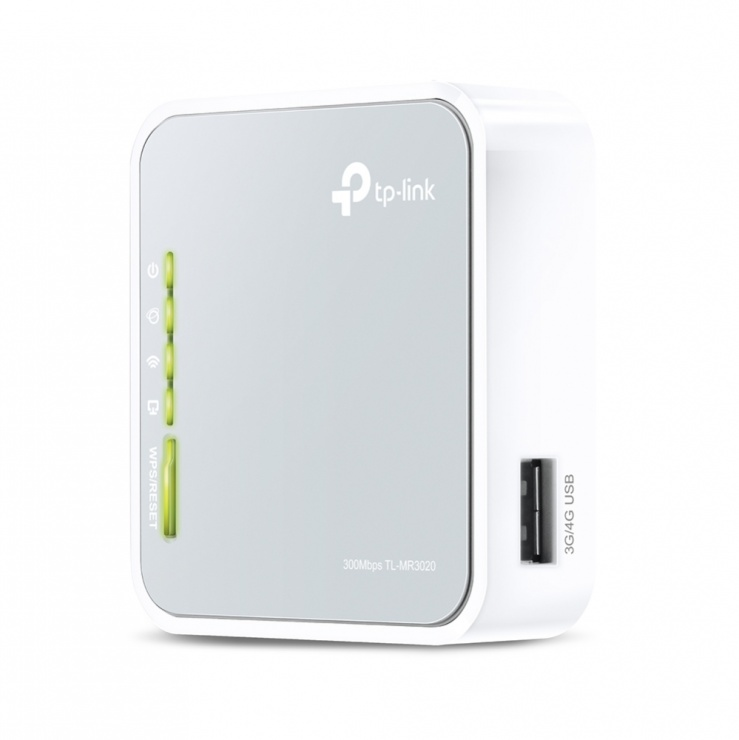 Imagine Router 3G/4G wireless N portabil 150Mbps, TP-Link TL-MR3020
