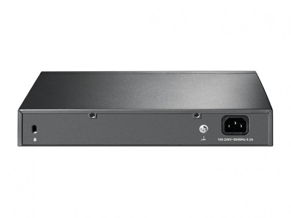 "Imagine Switch 24 porturi, carcasa metalica, rack 13"", TP-Link TL-SF1024D-1"