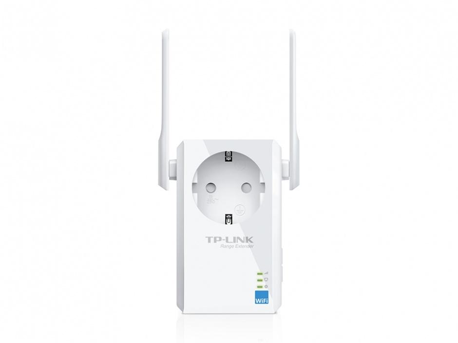 Imagine Range Extender Universal WiFi 300Mbps cu AC Passthrough, TP-Link TL-WA860RE