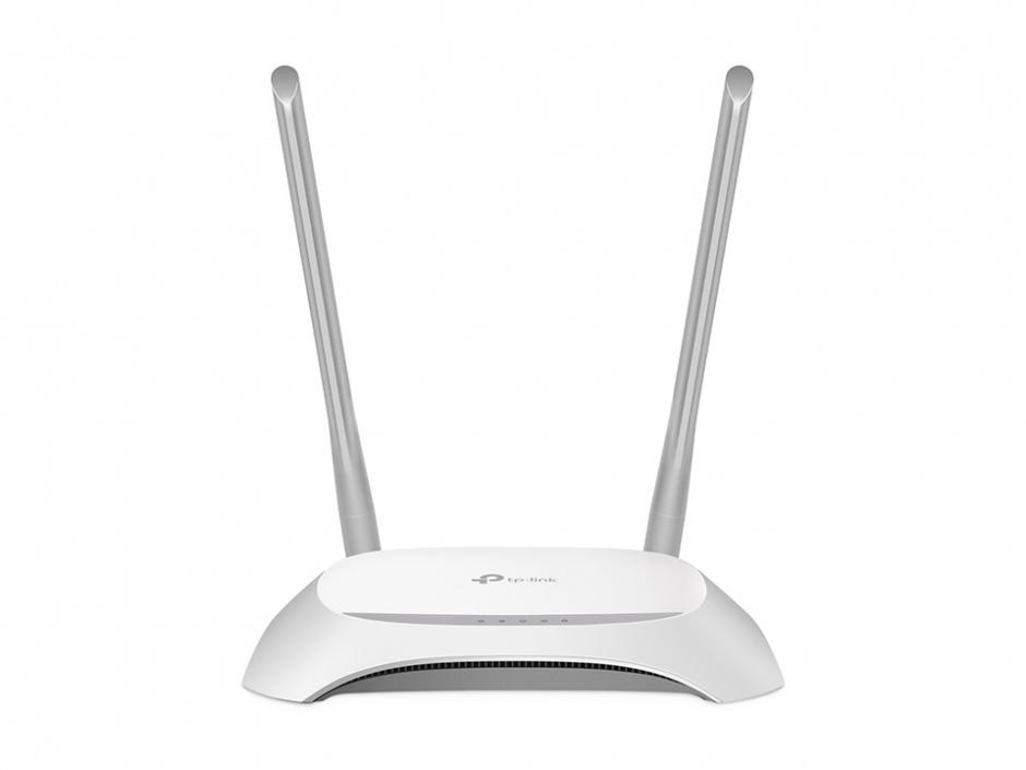 Imagine Router Wireless N 300Mbps, TP-LINK TL-WR840N