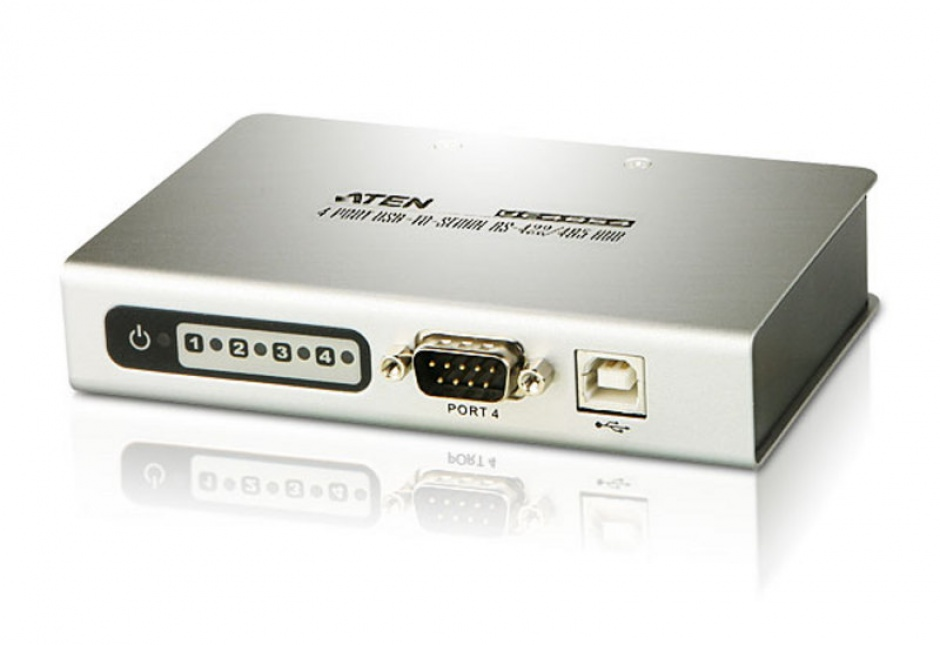 Imagine Adaptor USB la 4 x Serial RS-422/485, ATEN UC4854