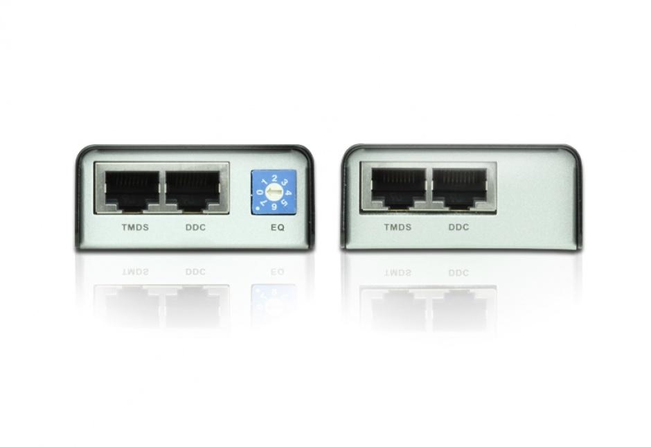 Imagine HDMI Extender maxim 60m cu tehnologia EDID, Aten VE800A-2