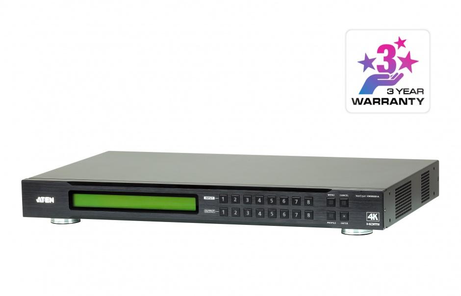 Imagine Matrix switch 8x8 4K HDMI, ATEN VM0808HA