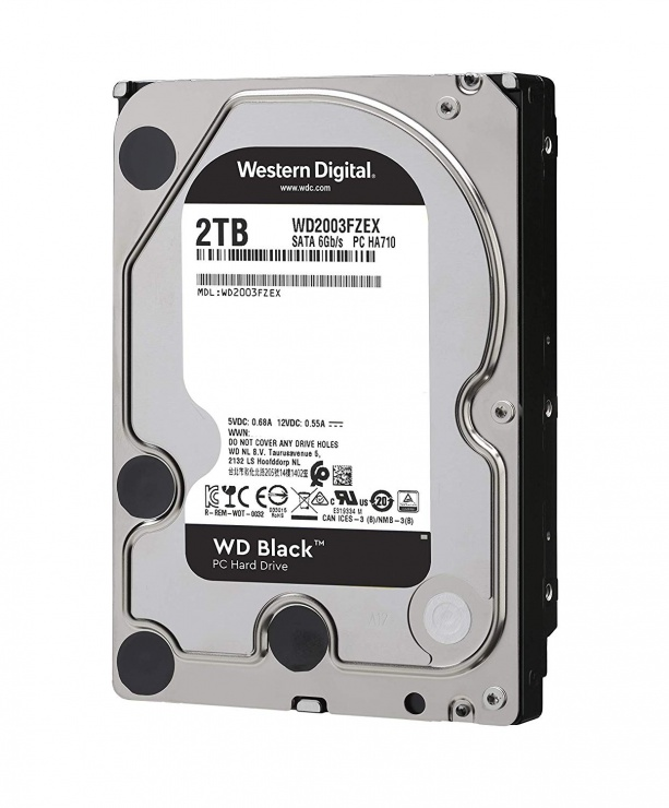Imagine Hard disk 2TB 7200 64MB SATA3 WD BLACK, WD2003FZEX