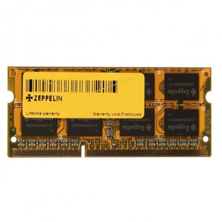 Imagine Memorie ZEPPELIN SODIMM 4GB DDR3 1600MHz, ZE-SD3-4G1600