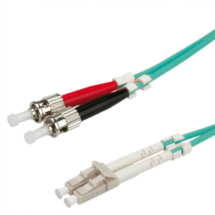 Imagine Cablu fibra optica LC-ST OM3 duplex multimode 2m, Value 21.99.8722