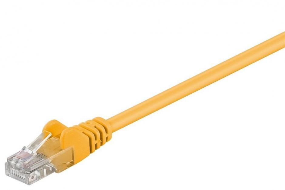 Imagine Cablu retea UTP cat.6 Galben 0.25m, sp6utp002y