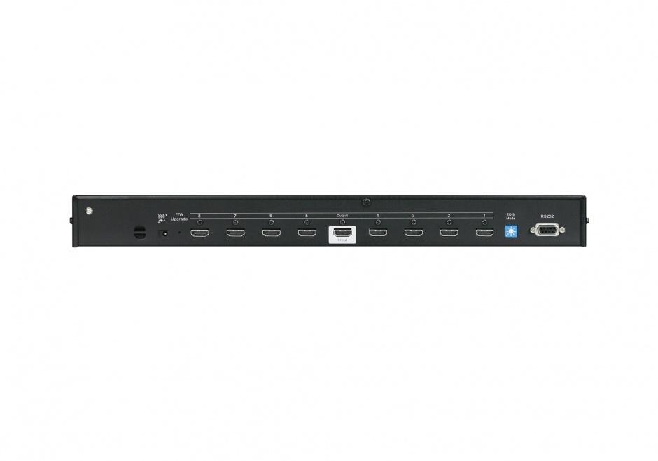 Imagine Multiplicator HDMI 8 porturi Ultra HD 4K, Aten VS0108HA-1