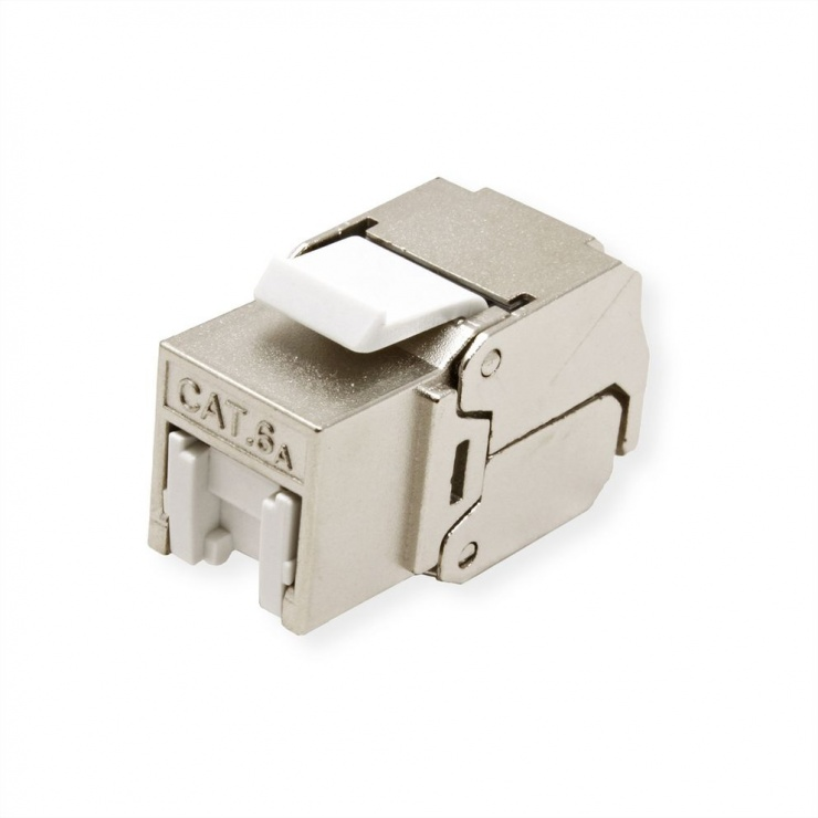 Imagine Keystone RJ45 Cat.6A (Clasa EA) STP toolfree, Roline 21.17.0321