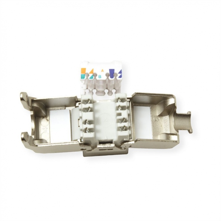 Imagine Keystone RJ45 Cat.6A (Clasa EA) STP toolfree, Roline 21.17.0321