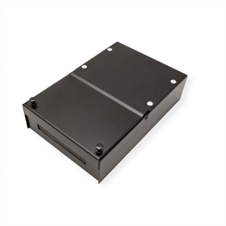 Imagine Carcasa metalica pentru 4 Keystone Negru, Value 26.99.0330