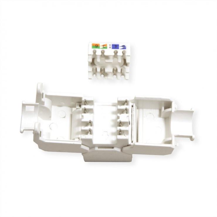 Imagine Keystone RJ45 Cat.6A (Class EA)  UTP tool-free, Value 26.99.0377