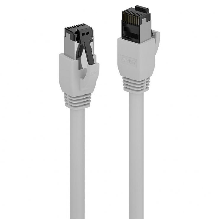 Imagine Cablu de retea RJ45 cat. 8.1 LSOH 3m Gri, Lindy L47435