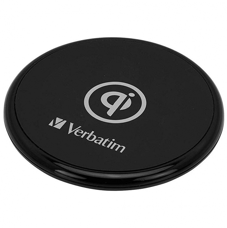 Imagine Incarcator Fast Charger (incarcare rapida) Wireless Qi 10 W, Verbatim 49550