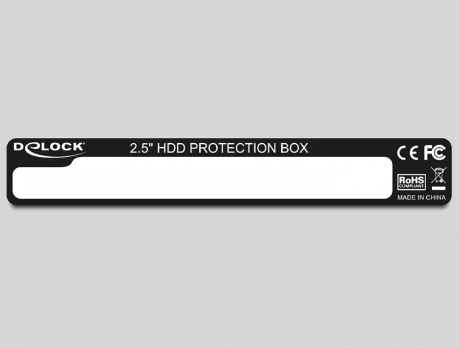 "Imagine Carcasa/cutie de protectie pentru HDD 2.5"", Delock 18209"