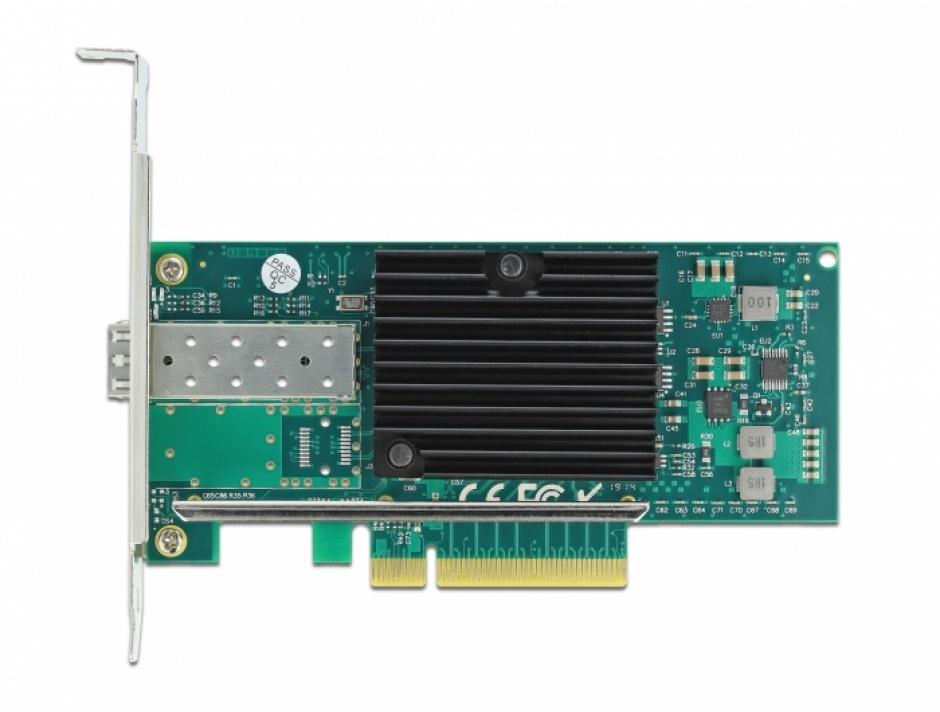 Imagine PCI Express la 1 x SFP+ Slot 10 Gigabit LAN, Delock 90479