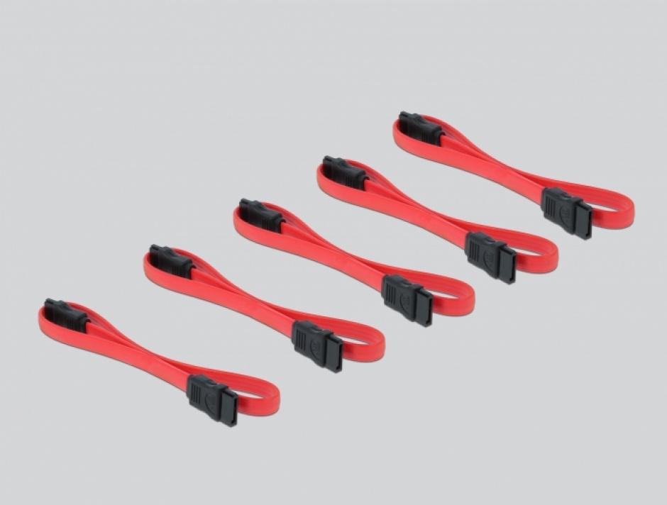 Imagine PCI Express cu 5 porturi SATA III, Delock 90498