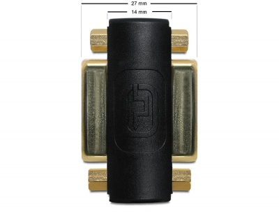 Imagine Adaptor DVI-I Dual Link 24+5pini M -M, Delock 65225-1