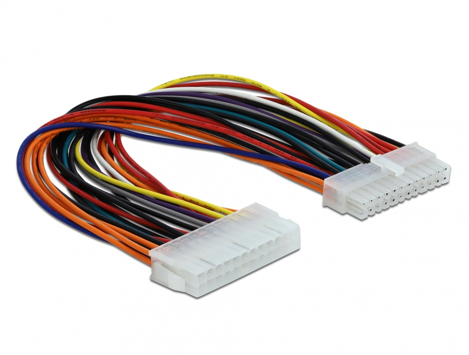 Imagine Cablu prelungitor placa de baza ATX 24 pini, Delock 82989