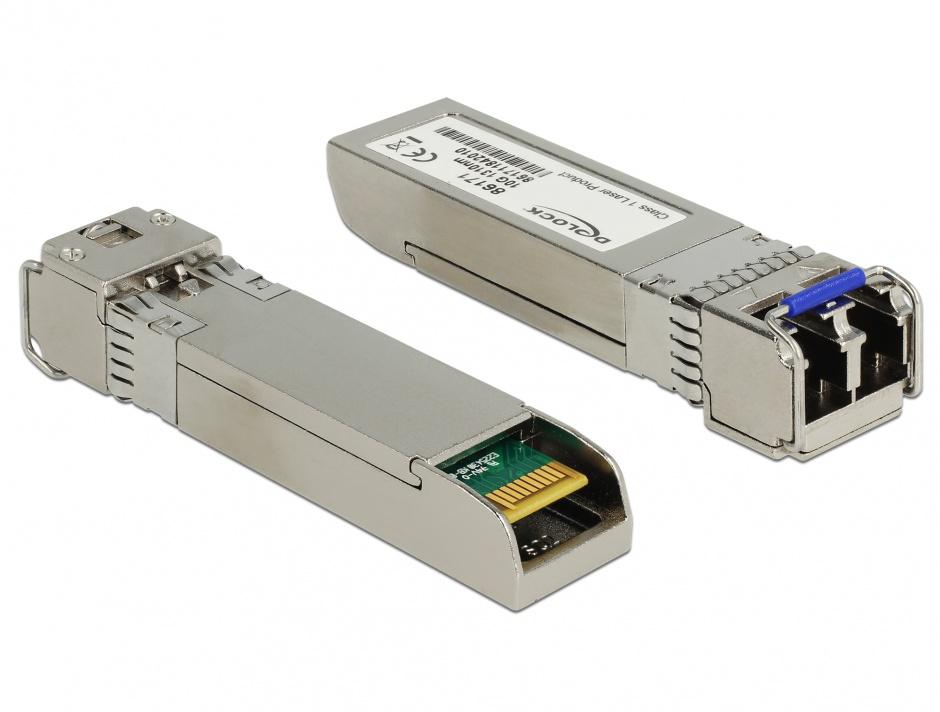 Imagine Modul SFP+ 10GBase-LR SM 1310 nm, Delock 86171