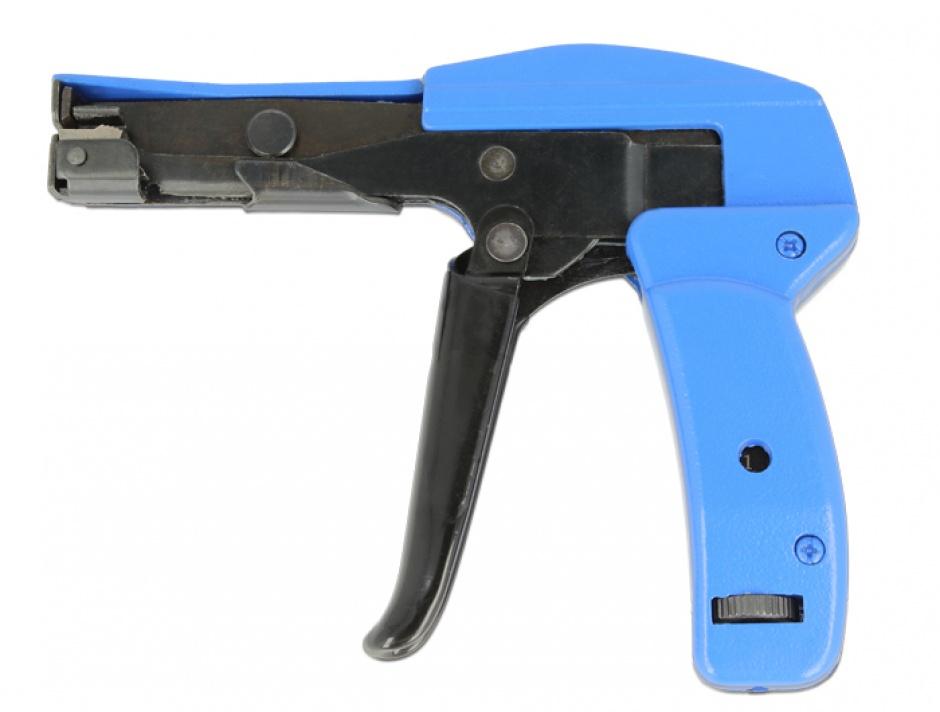 Imagine Instrument de instalare pentru bride din plastic Negru/Albastru, Delock 86177