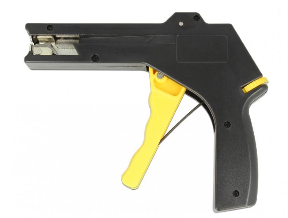 Imagine Instrument de instalare pentru bride din plastic Negru/Galben, Delock 86178