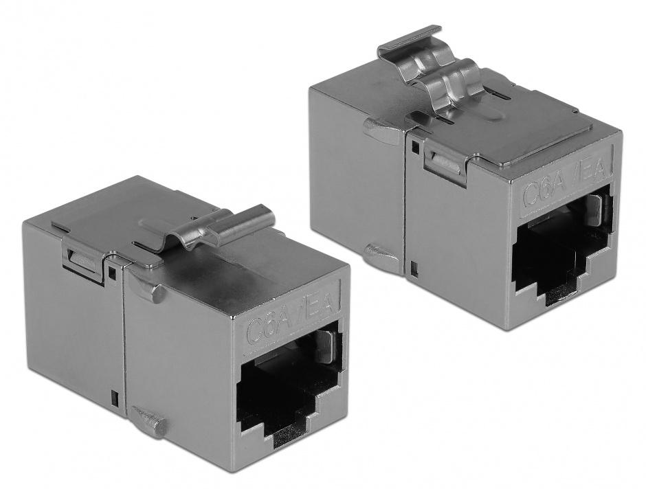 Imagine Modul keystone RJ45 cat 6A, Delock 86408