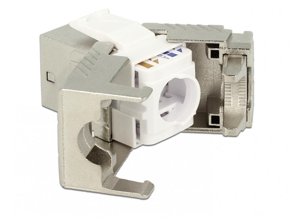 Imagine Modul keystone RJ45 jack Cat.8 toolfree, Delock 86488