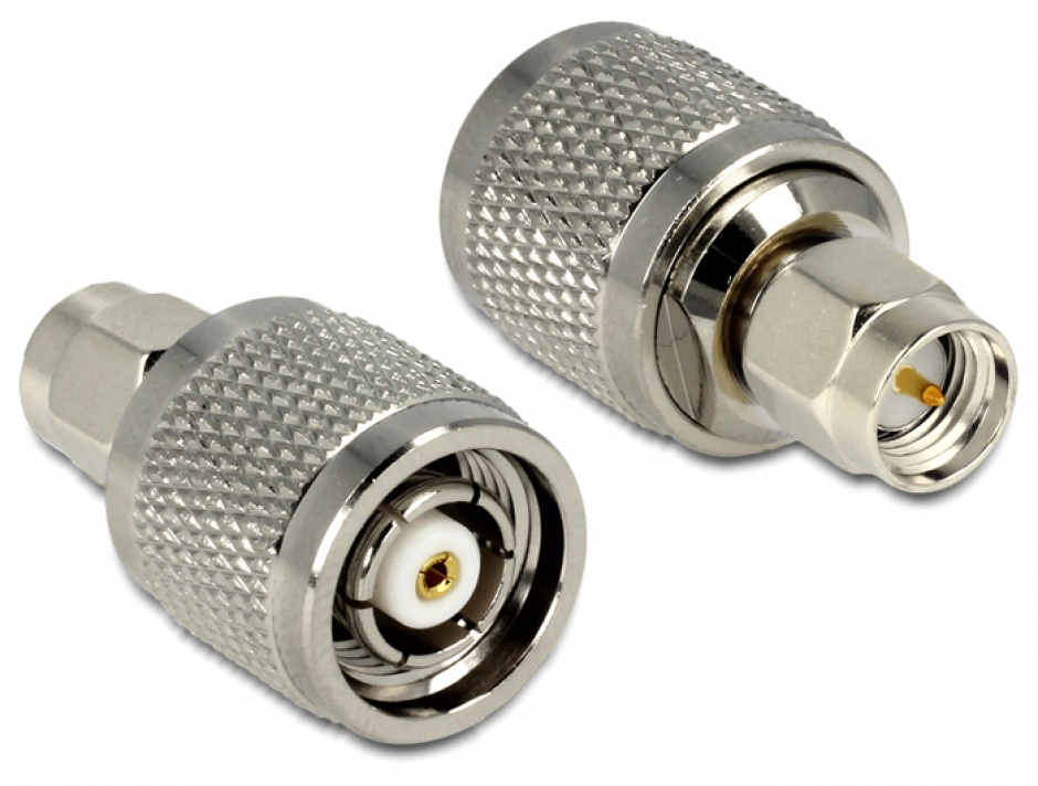 Imagine Adaptor RP-TNC Plug la SMA Plug, Delock 88853