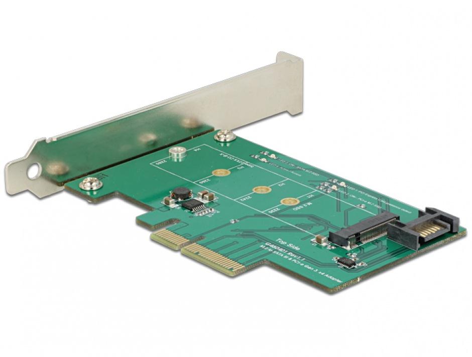 Imagine PCI Express la 1 x port NVMe M.2, Delock 89381