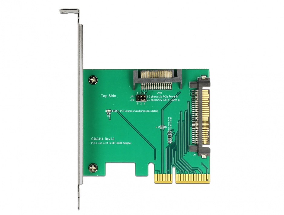 Imagine PCI Express la un port intern tata U.2 NVMe SFF-8639, Delock 89673