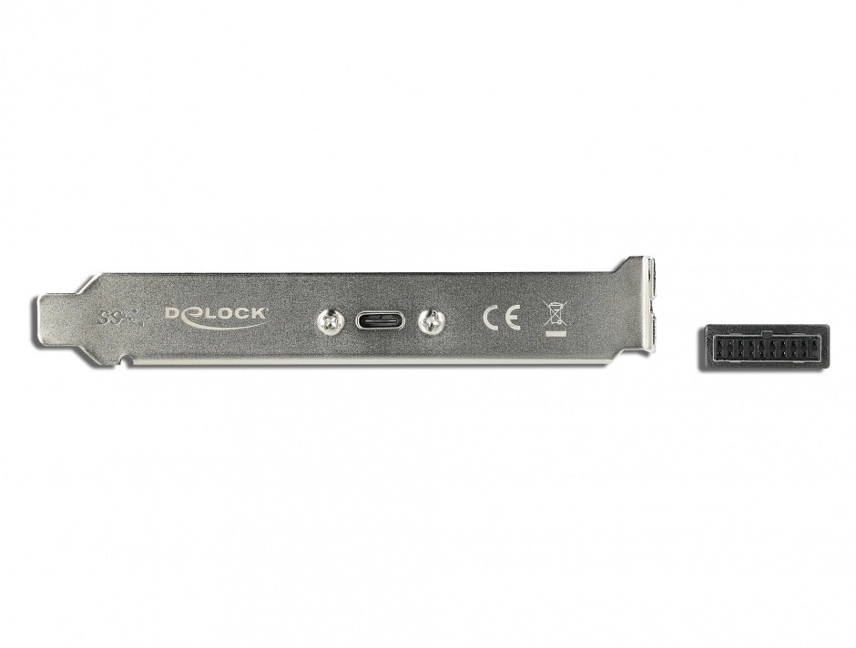 Imagine Bracket cu 1 x USB-C 5V/0.9A, Delock 89937