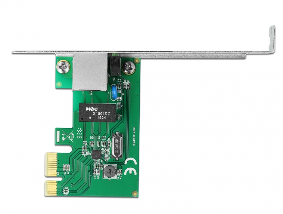 Imagine PCI Express cu un port Gigabit LAN, Delock 90381