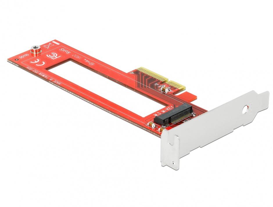 Imagine PCI Express cu un slot M.3 / NF1 LPFF, Delock 90401
