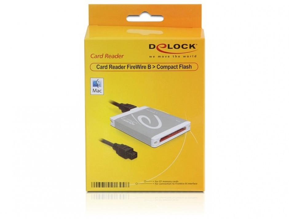 Imagine Card Reader Delock FireWire B la Compact Flash, 91694