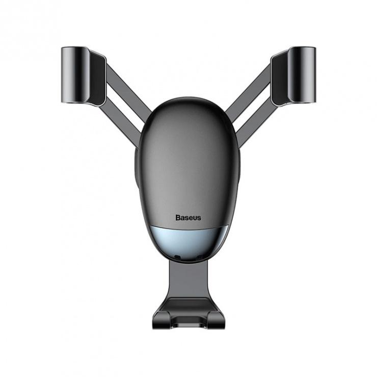 Imagine Suport auto magnetic pentru smartphone cu montare ventilator, Baseus MiniGravity