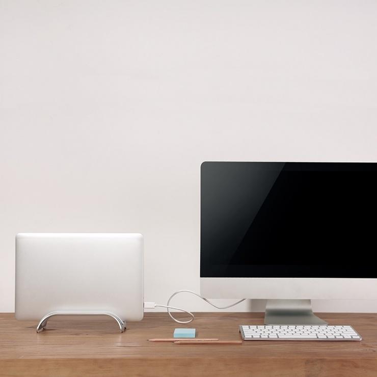 Imagine Stand vertical pentru MacBook max 5kg, Logilink AA0128