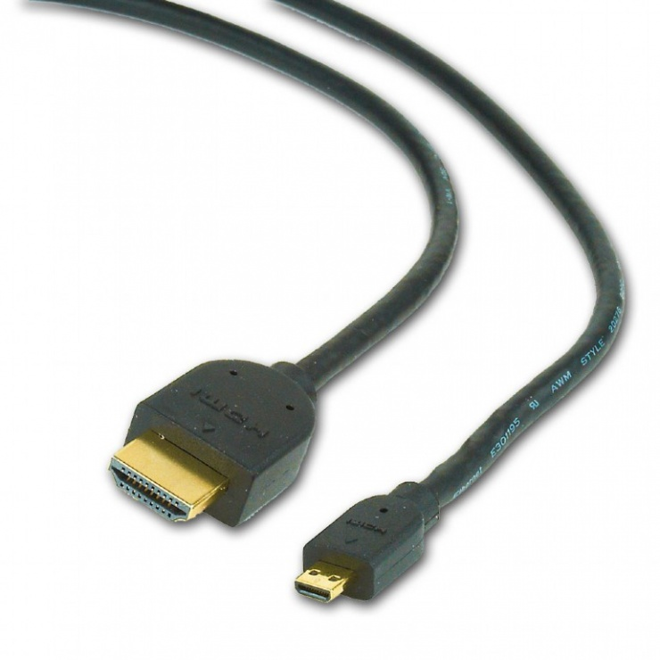 Imagine Cablu HDMI la micro HDMI-D 4.5m, Gembird CC-HDMID-15
