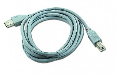 Imagine Cablu USB 2.0 de imprimanta tip A la USB-B T-T 1.8m, Gembird CCP-USB2-AMBM-6G