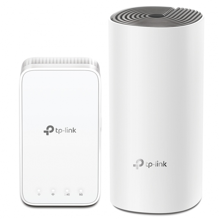 Imagine Sistem Mesh Wi-Fi AC1200, TP-LINK Deco E3(2-pack)