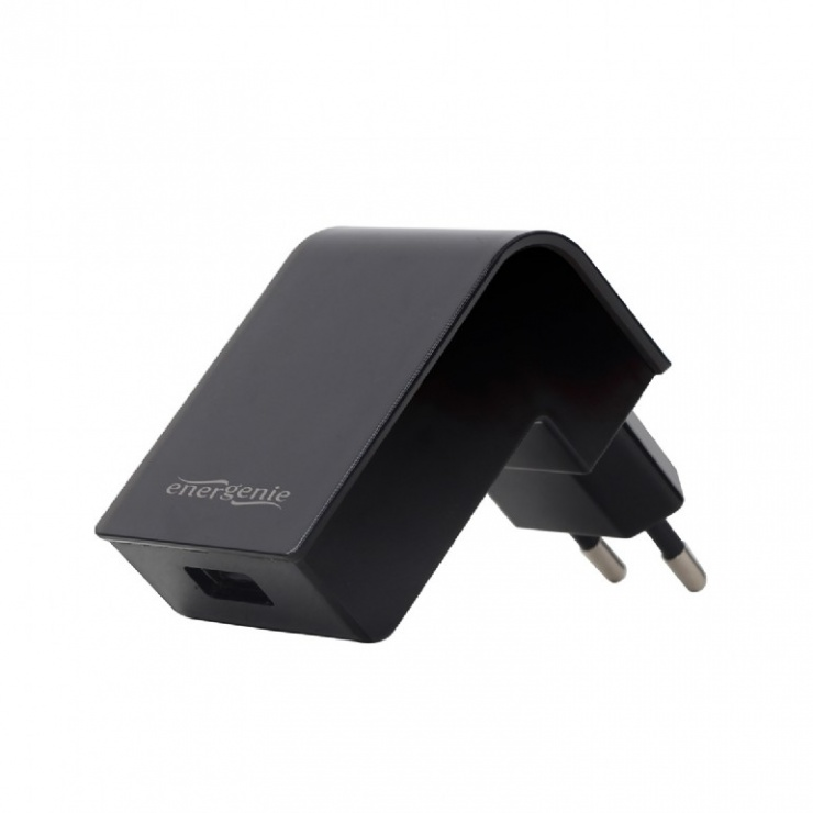 Imagine Incarcator priza 1 x USB 2.1A Negru, Energenie EG-UC2A-02