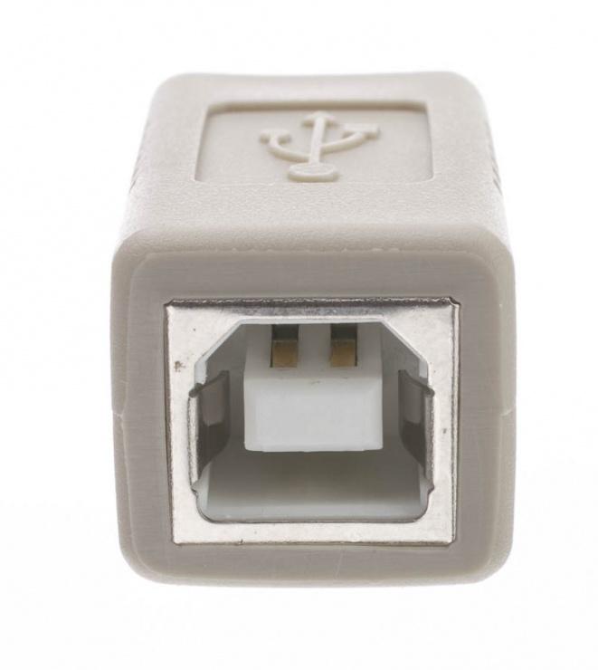 Imagine Adaptor USB 2.0-B la USB-B M-M, KUR-7