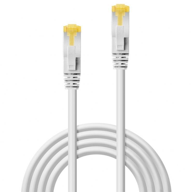Imagine Cablu de retea S/FTP cat 7 LSOH Alb 20m, Lindy L47330