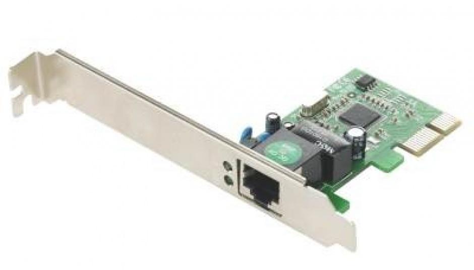 Imagine  Placa de retea PCI Express Gigabit, Gembird NIC-GX1